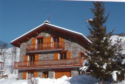 Vue ext�rieure de la location Location Chalet 91424 Les Menuires