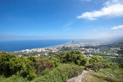 Vue depuis la location Location Gite 93020 Bastia