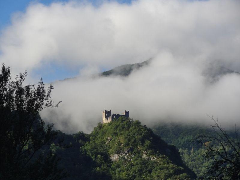 Vue depuis la location Location Gite 95886 Ussat les Bains