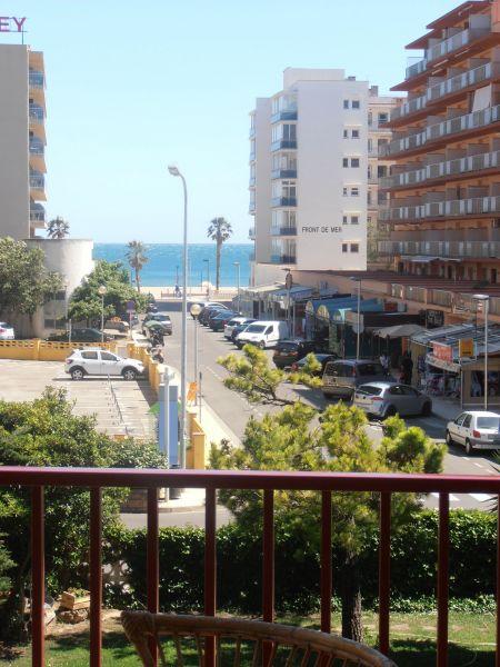 Vue de la terrasse Location Appartement 8303 Rosas