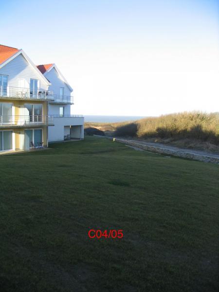 Vue de la terrasse Location Appartement 8917 Wimereux