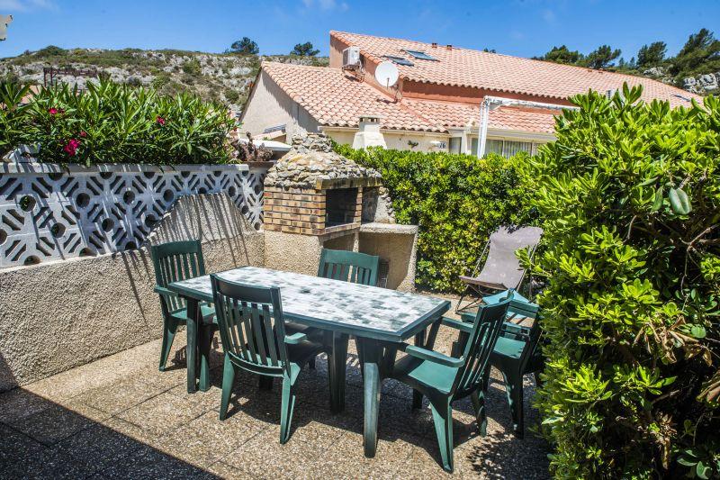Vue de la terrasse Location Villa 9173 Narbonne plage