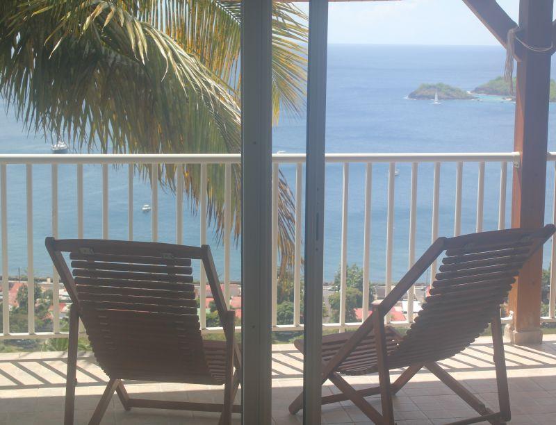 Vue du balcon Location Gite 103675 Bouillante