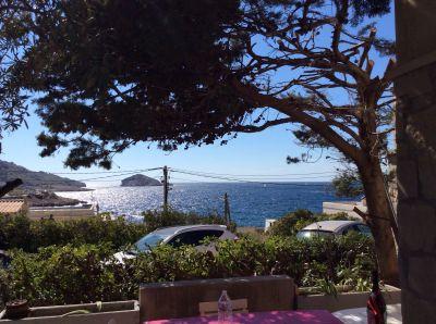 Vue depuis la location Location Appartement 104228 Marseille