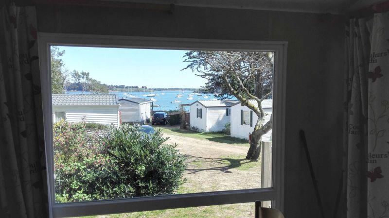 Vue depuis la location Location Mobil-home 105092 Arzon