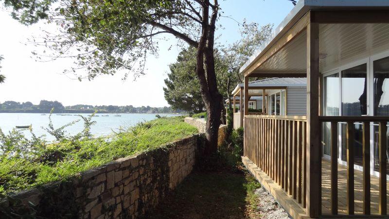 Vue extérieure de la location Location Mobil-home 105092 Arzon