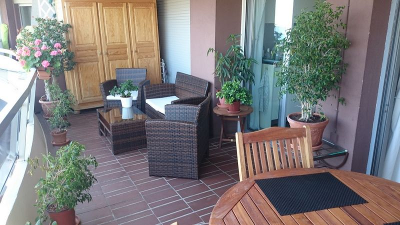 Balcon Location Appartement 105916 Nice