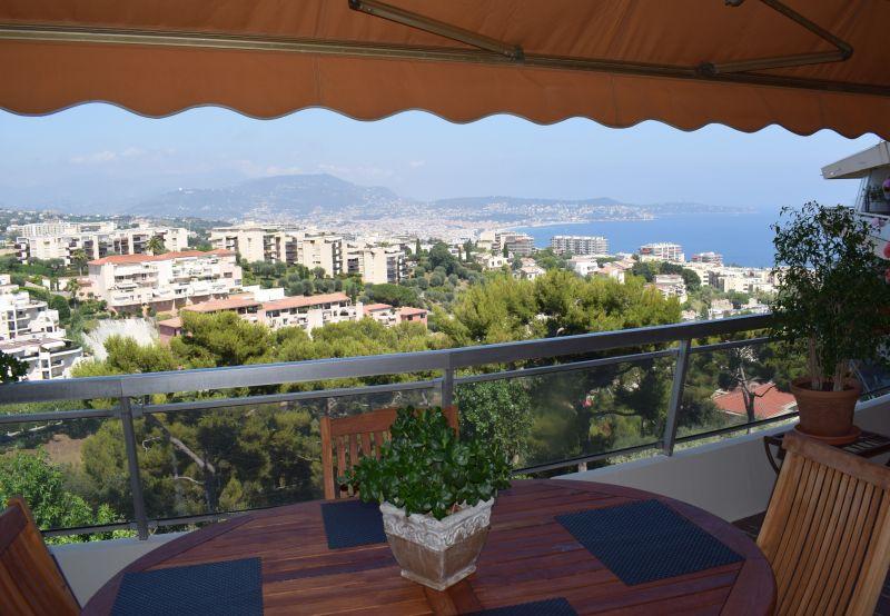 Vue depuis la location Location Appartement 105916 Nice