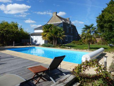 Vue extérieure de la location Location Maison 106998 Saint Malo