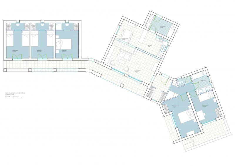 Plan de la location Location Villa 108016 Esparron-de-Verdon