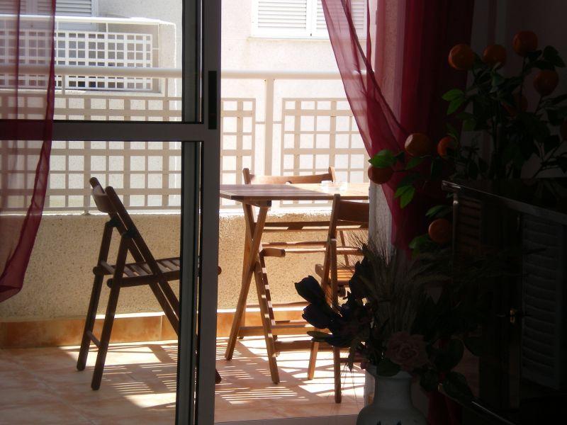 Vue de la terrasse Location Appartement 108388 Águilas