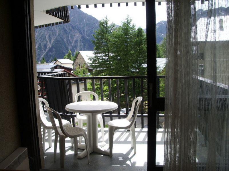 Vue du balcon Location Appartement 111830 Les 2 Alpes