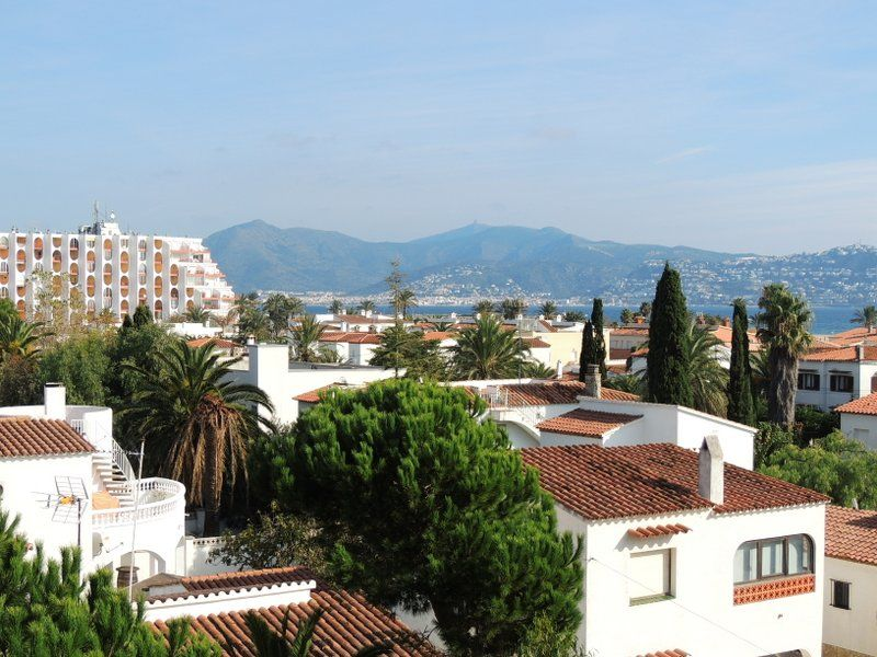 Vue de la terrasse Location Appartement 112044 Empuriabrava