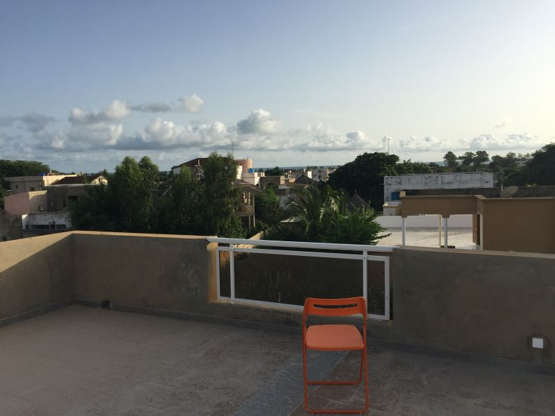 Vue de la terrasse Location Appartement 112144 Saly