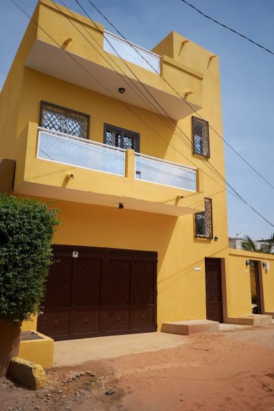Vue extérieure de la location Location Appartement 112144 Saly