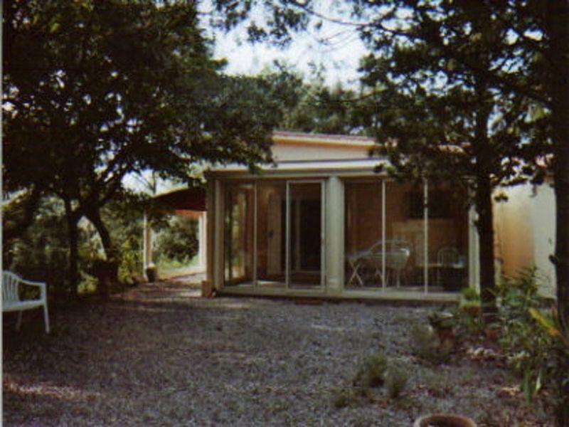 Vue extérieure de la location Location Villa 115280 Aniane