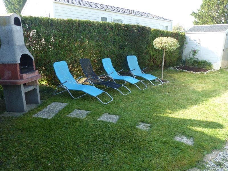 Jardin Location Mobil-home 117426 Deauville