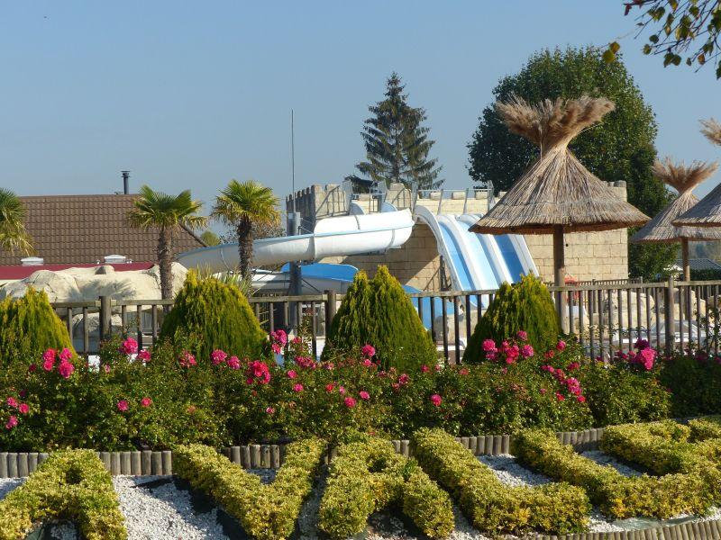 Piscine Location Mobil-home 117426 Deauville