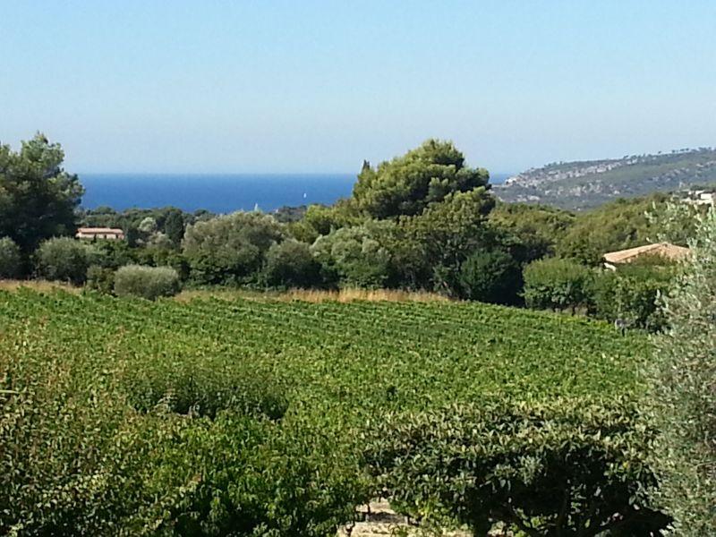 Vue depuis la location Location Villa 118908 Cassis