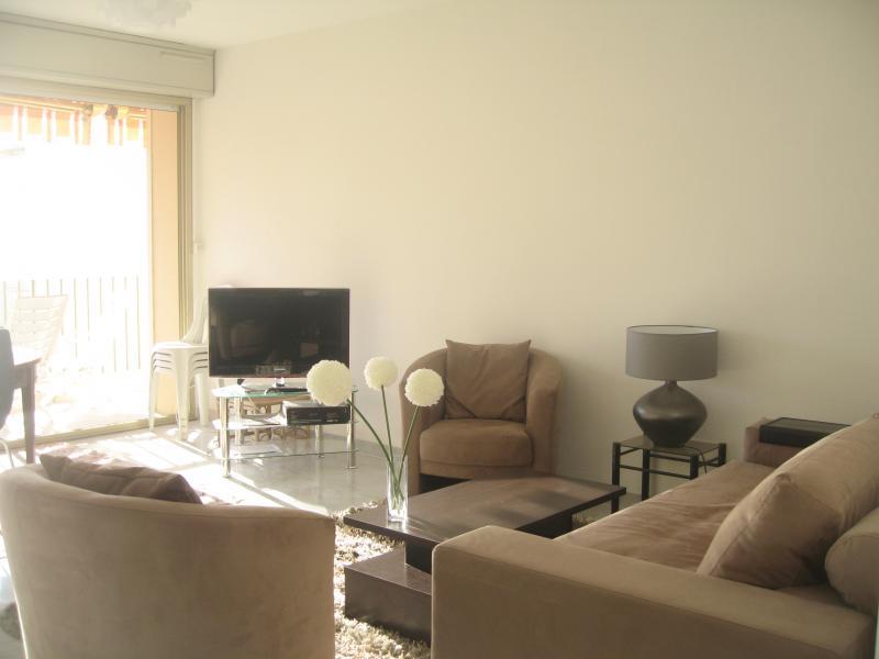Salon Location Appartement 68462 Juan les Pins