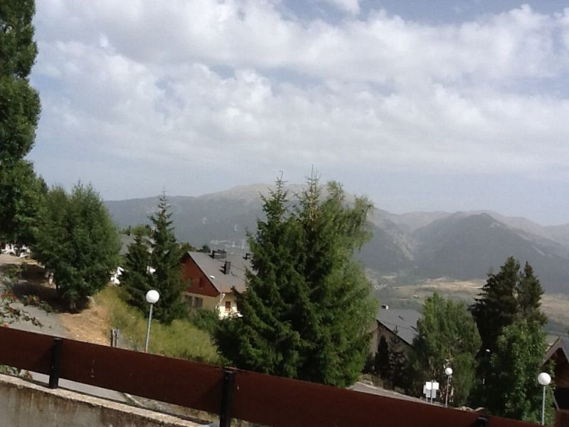 Vue de la terrasse Location Appartement 69937 Font Romeu