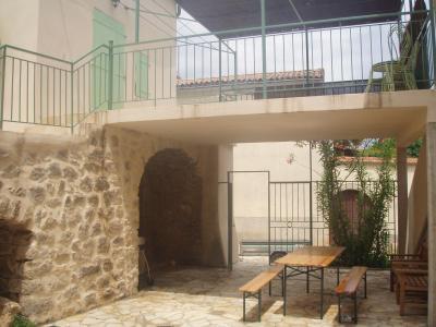 Vue extérieure de la location Location Maison 71557 Aubenas