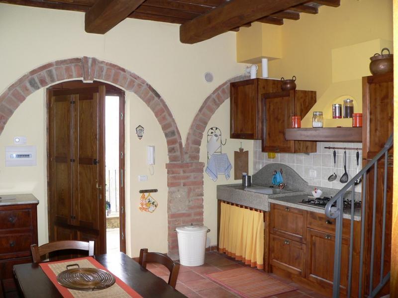 Cuisine américaine Location Appartement 71873 Sienne