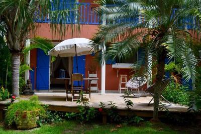 Vue de la terrasse Location Studio 79869 Gosier (Guadeloupe)