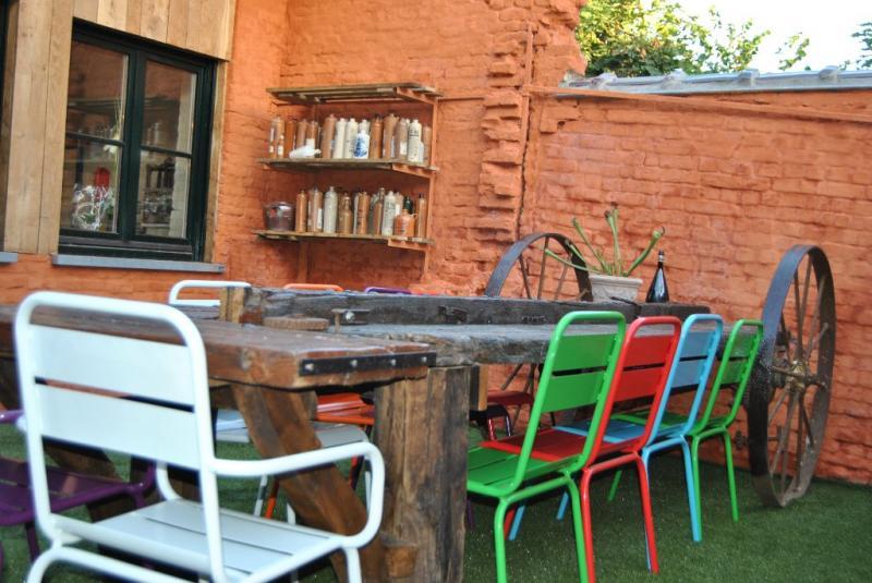 Terrasse 1 Location Gite 80282 Courtrai