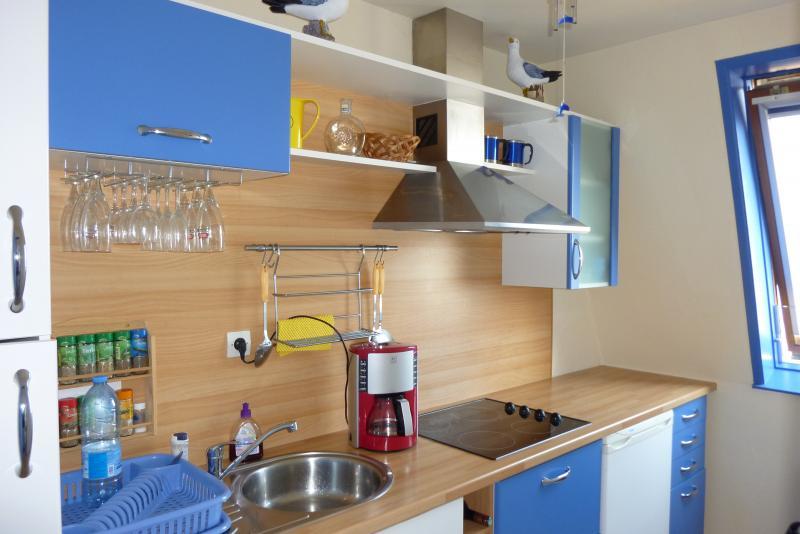 Cuisine d'été Location Appartement 83196 Cabourg