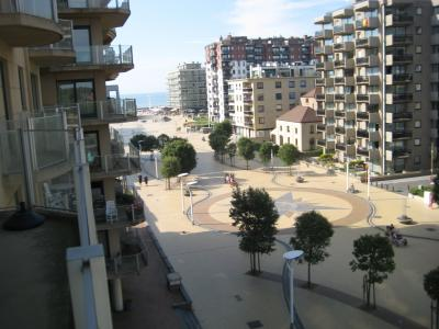 Vue du balcon Location Appartement 91057 La Panne