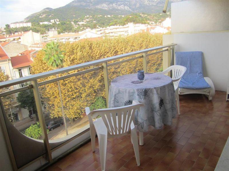 Vue de la terrasse Location Appartement 91364 Menton