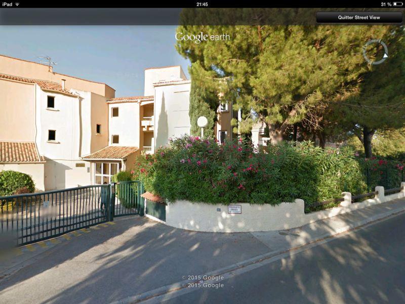 Vue extérieure de la location Location Appartement 93899 Sanary