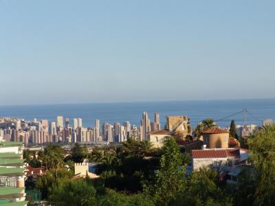 Vue de la terrasse Location Maison 97261 Benidorm