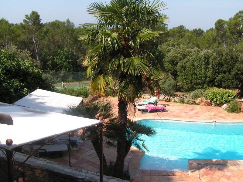 Vue depuis la location Location Villa 98166 Cotignac