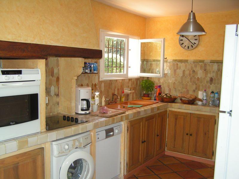 Cuisine indépendante Location Villa 98166 Cotignac