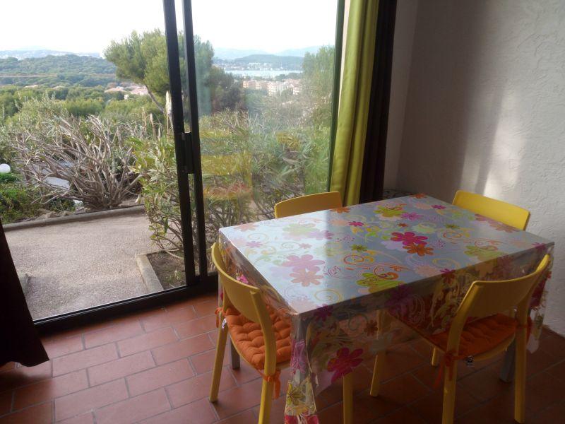 Vue de la terrasse Location Appartement 105934 Saint Mandrier sur Mer