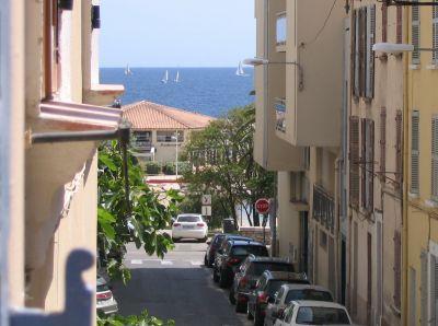 Vue depuis la location Location Studio 107828 Toulon