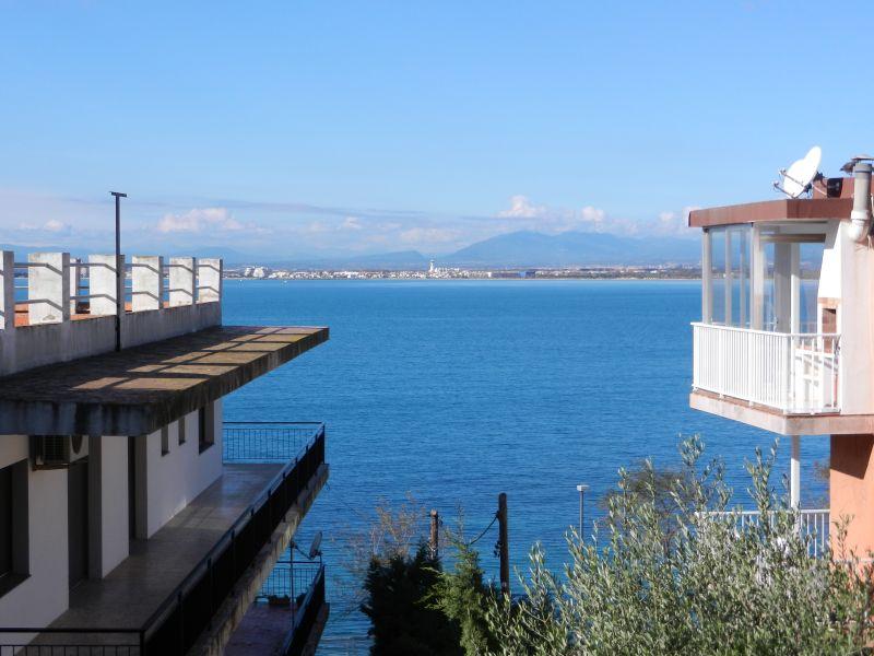 Vue de la terrasse Location Appartement 108266 Rosas