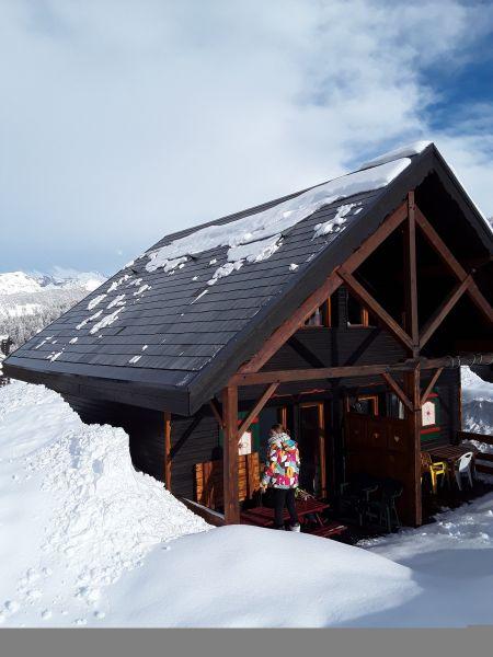 Vue extérieure de la location Location Chalet 111824 Risoul 1850