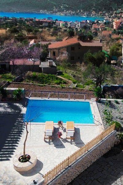 Vue depuis la location Location Maison 112560 Trogir