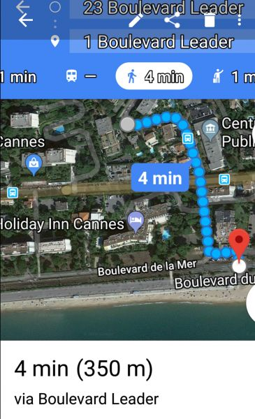 Plage Location Appartement 114426 Cannes