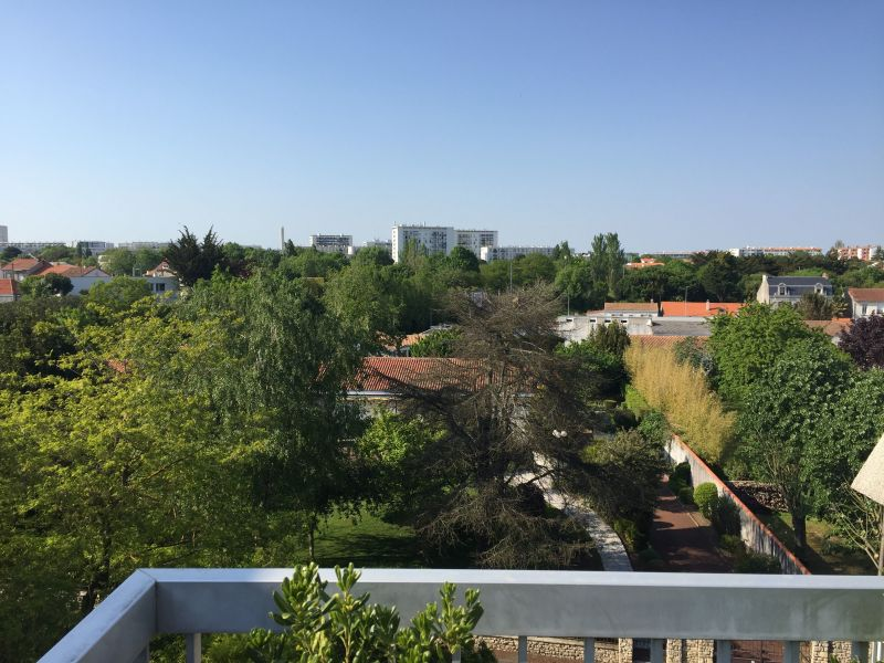 Vue de la terrasse Location Appartement 117296 La Rochelle