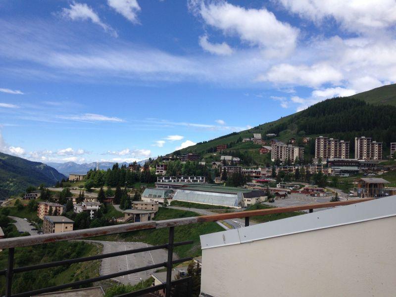 Vue de la terrasse Location Appartement 117953 Orcières Merlette