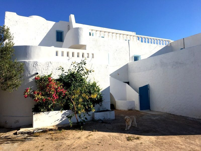 Vue extérieure de la location Location Appartement 119688 Djerba
