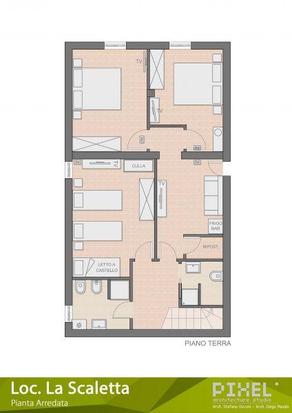 Carte Location Villa 65699 Alghero