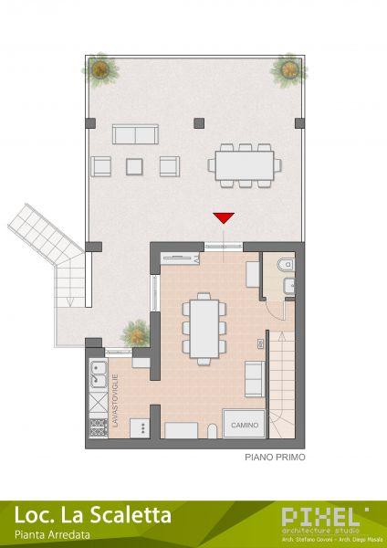 Plan de la location Location Villa 65699 Alghero