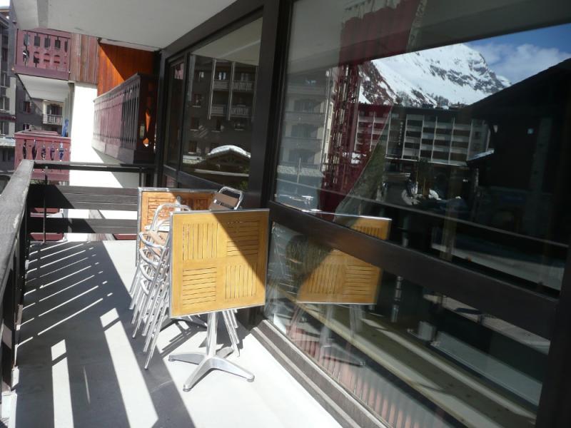 Vue du balcon Location Appartement 66362 Val d'Isère