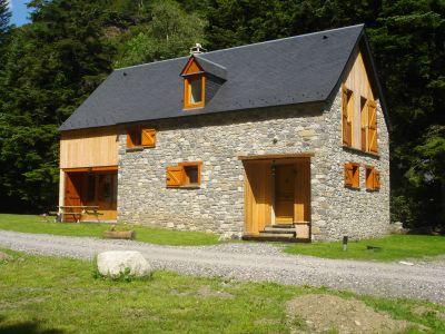 Vue ext�rieure de la location Location Gite 67181 Saint Lary Soulan