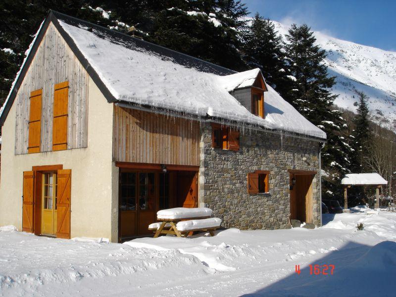 Vue extérieure de la location Location Gite 67181 Saint Lary Soulan